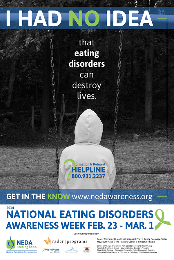 National Eating Disorder Awareness Week - Laces and Lattes