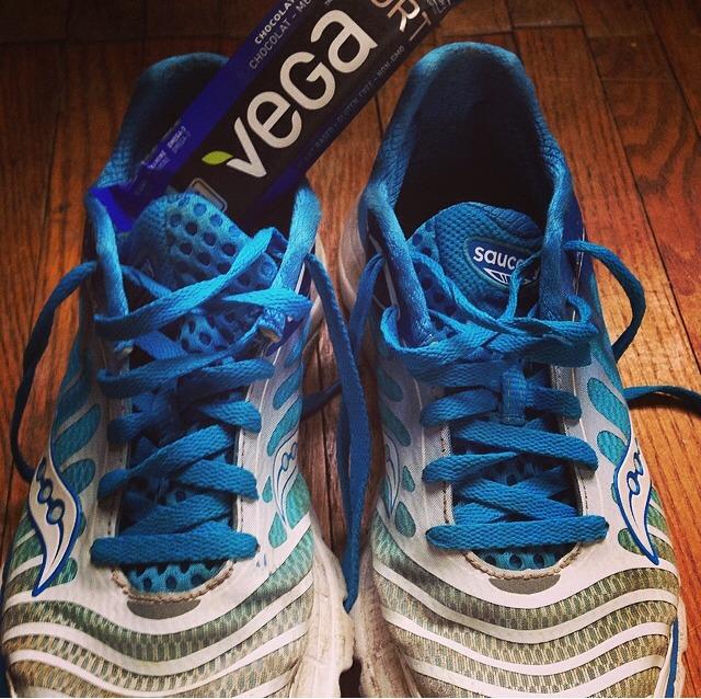vega in shoe